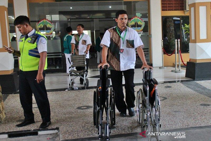 Jumlah calon haji pengguna kursi roda di Embarkasi Surakarta meningkat