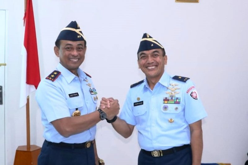 Marsma TNI Wayan Sulaba serahkan jabatan Kaskoopsau III Biak