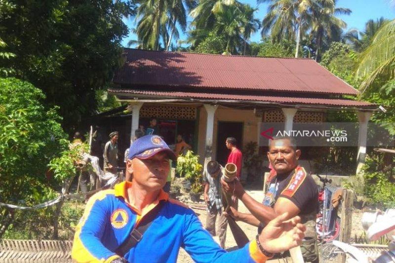Satu rumah warga di Aceh Selatan terbakar