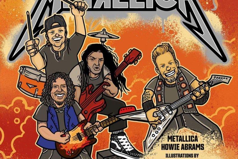 Metallica akan rilis buku belajar untuk anak-anak