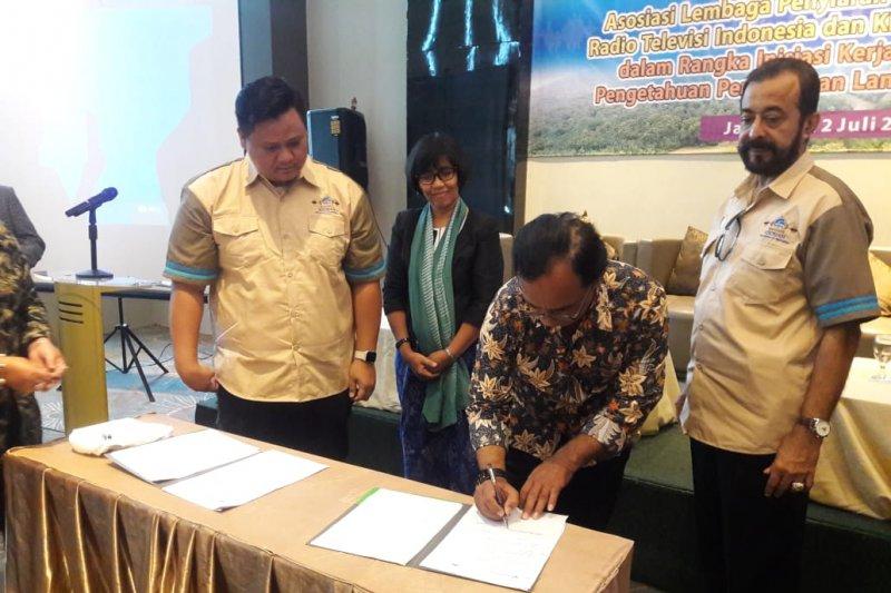 Asosiasi LPPL Radio-TV Indonesia MoU dengan ANTARA