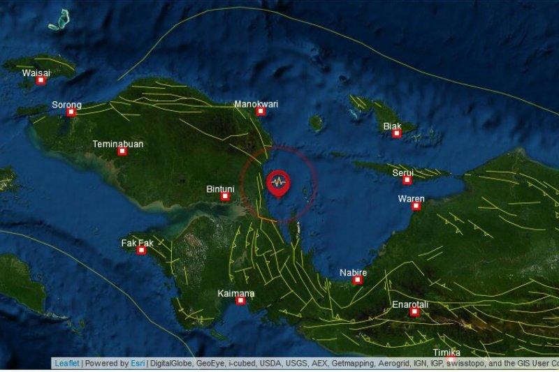 Manokwari Selatan diguncang gempa bumi 3,6 SR