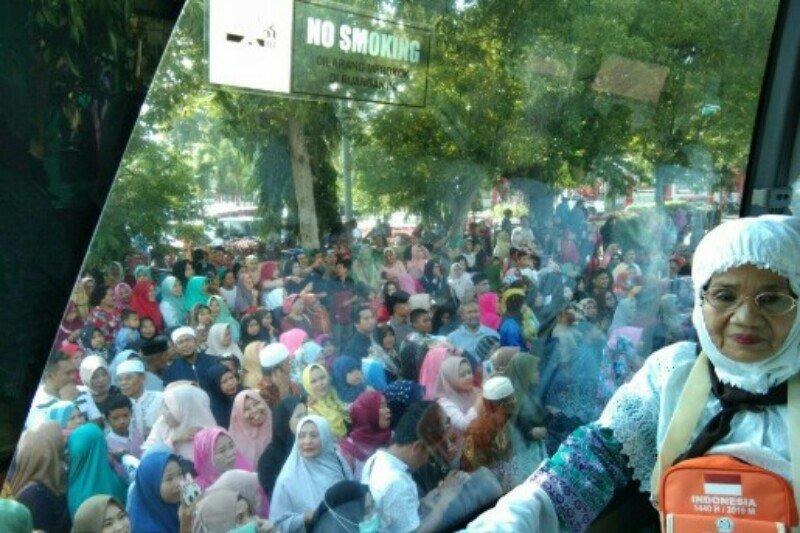 63 calon haji dari Polman menuju Embarkasi Makassar