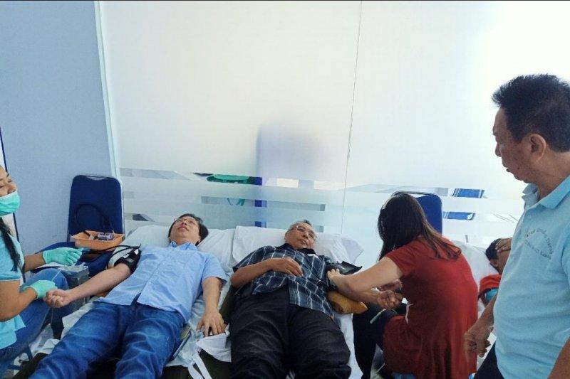 BPR KMCS peduli kemanusiaan lewat donor darah