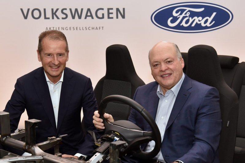 Ford-Volkswagen umumkan aliansi global mobil listrik