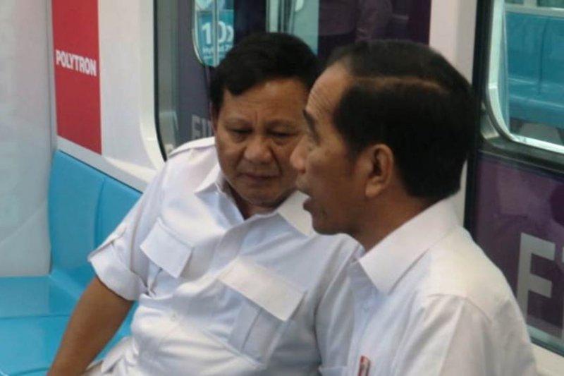 Merunut kronologi momen pertemuan Jokowi-Prabowo