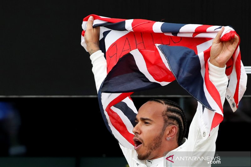 GP Inggris jadi seri F1 2019 paling ramai penonton