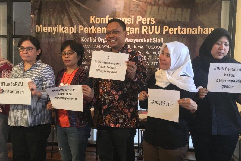 Aliansi Petani Indonesia tolak pengesahan draf terakhir RUU Pertanahan