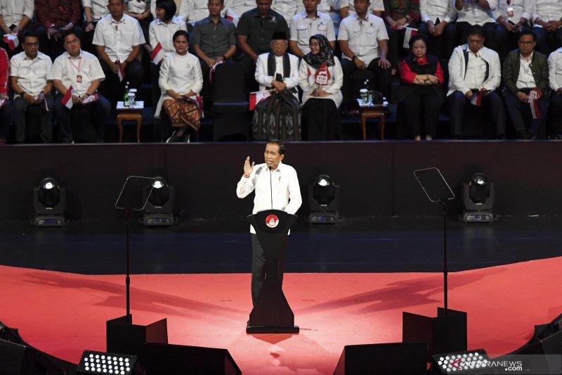 Pidato politik Jokowi memberi rasa optimisme