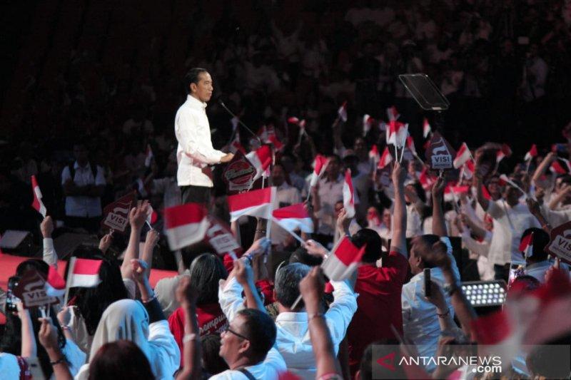 Jokowi lanjutkan pembangunan infrastruktur terintegrasi