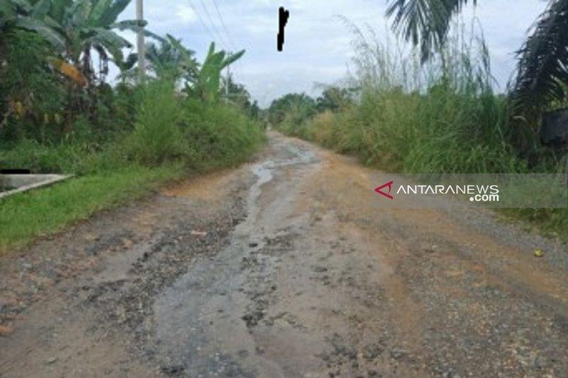 Masyarakat apresiasi atas peningkatan dua kilometer jalan