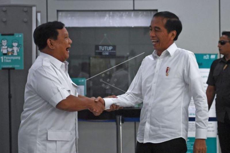 Jokowi jumpa Prabowo