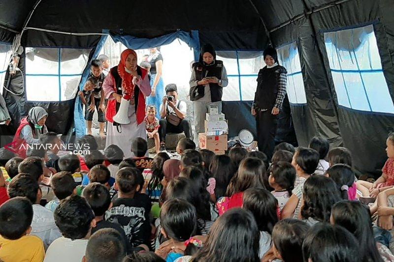 ACT Sumsel turunkan psikososial ke lokasi kebakaran Sungki Palembang