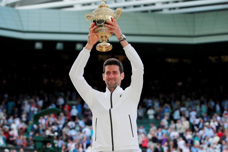 Fakta pertarungan Djokovic vs Federer di Wembledon