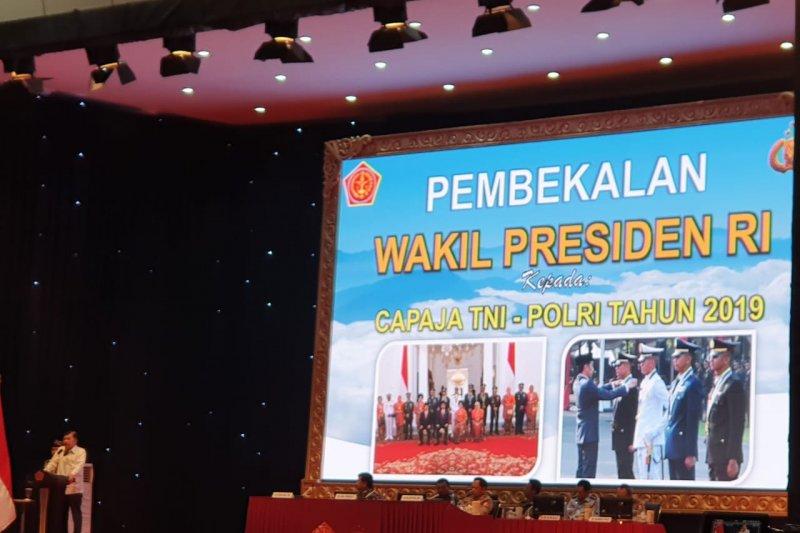 JK beri pembekalan Capraja TNI-Polri Tahun 2019