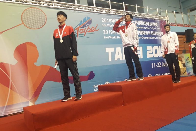 Madu jadi kunci Ilyas sabet tiga emas Kejuaraan Bulu tangkis Tuna Rungu