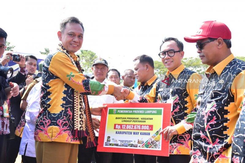 Pemprov Lampung bantu program pertanian perikanan Rp84 miliar ke kabupaten/kota