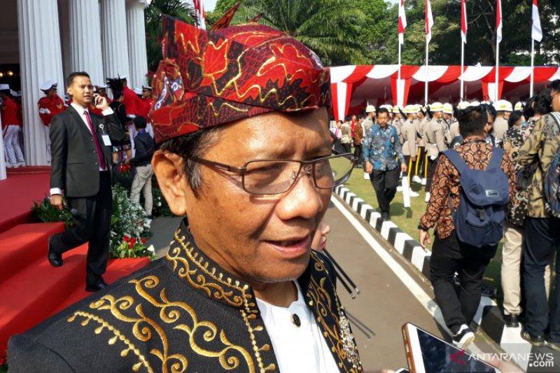Mahfud MD: Rakyat lebih suka Prabowo pimpin oposisi