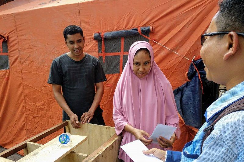 Wagub Sulsel  bantu korban kebakaran di Makassar
