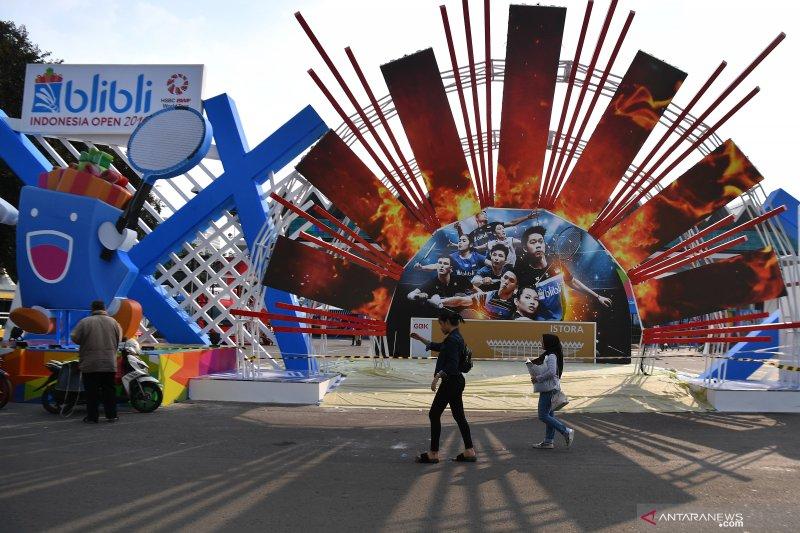 Indonesia Open 2019 bisa ditonton via ponsel
