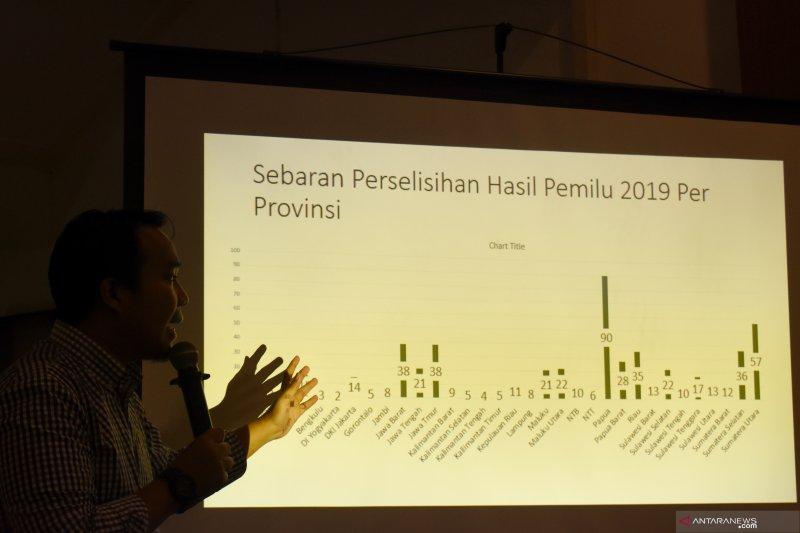 Perludem: Perselisihan hasil pileg terbanyak di MK dari Papua