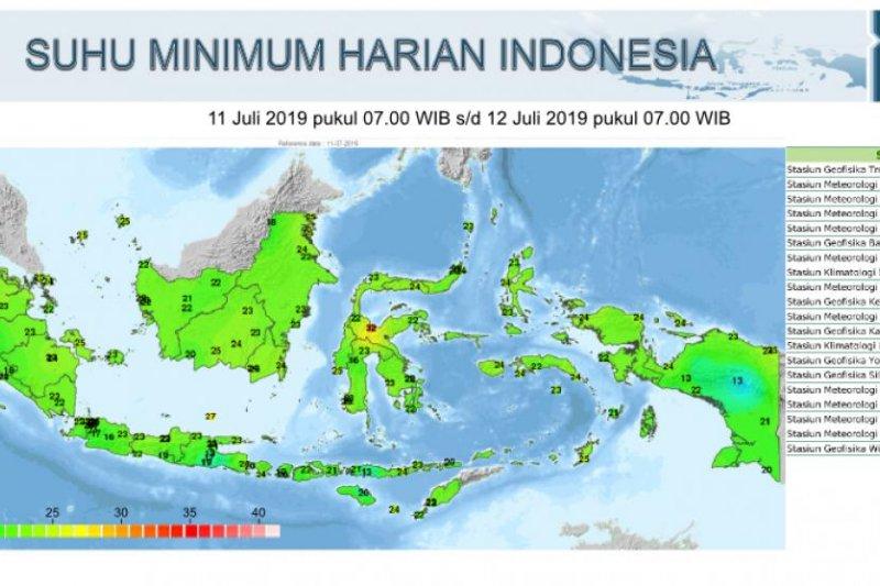 Jakarta pada malam  akan lebih dingin, apa kata BMKG ?