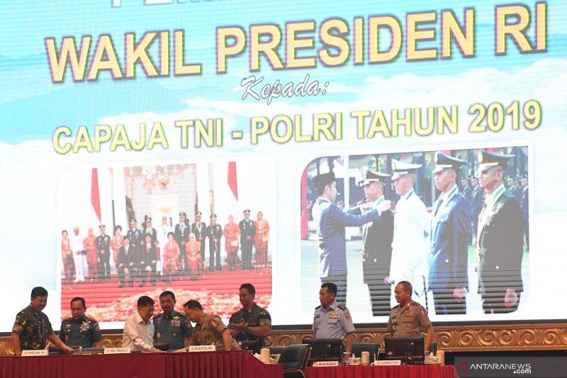 Pembekalan Capaja TNI-Polri