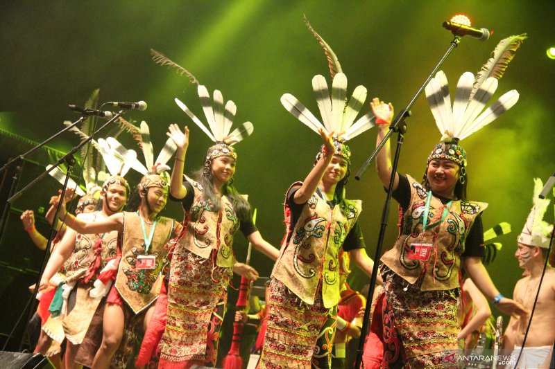 Penutupan Rainforest World Music Festival