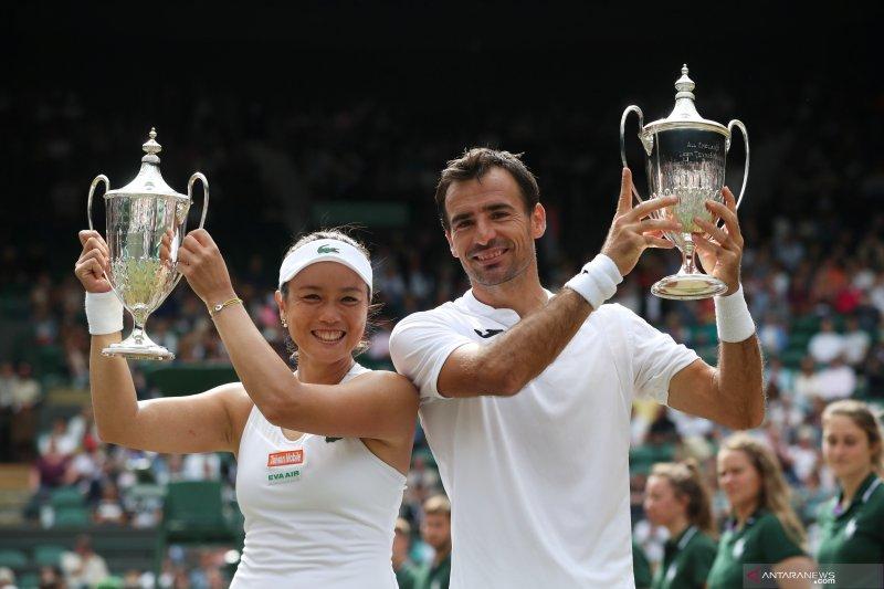 Tenis -- Petenis Taiwan juara ganda campuran Wimbledon
