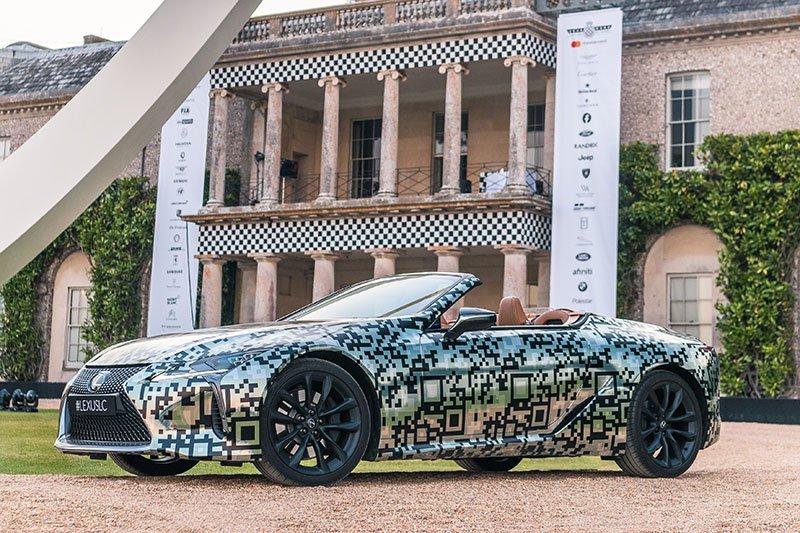 Lexus pamerkan prototipe coupe LC di Inggris