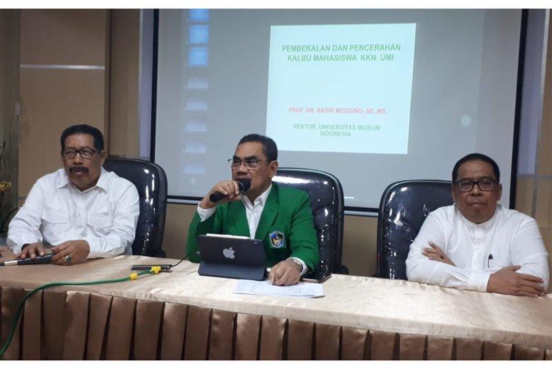 Rektor UMI minta mahasiswa KKN jaga nama baik institusi
