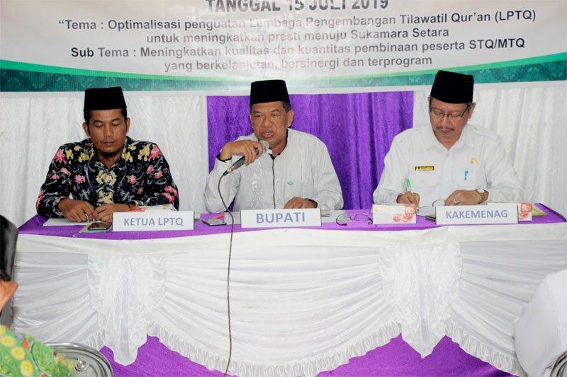 Musda LPTQ Sukamara diharapkan memberikan manfaat bagi masyarakat