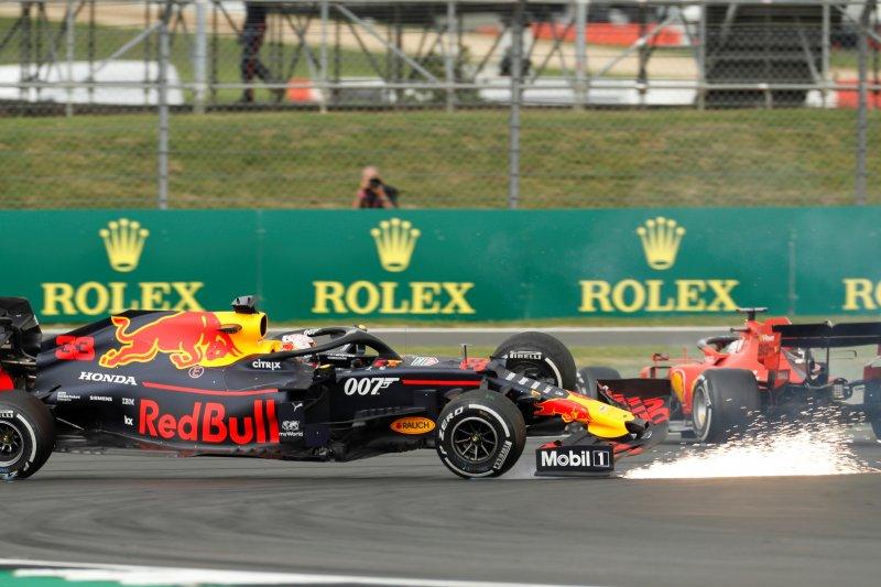 Max Verstappen beberkan kondisi mobil di finis usai diseruduk Vettel