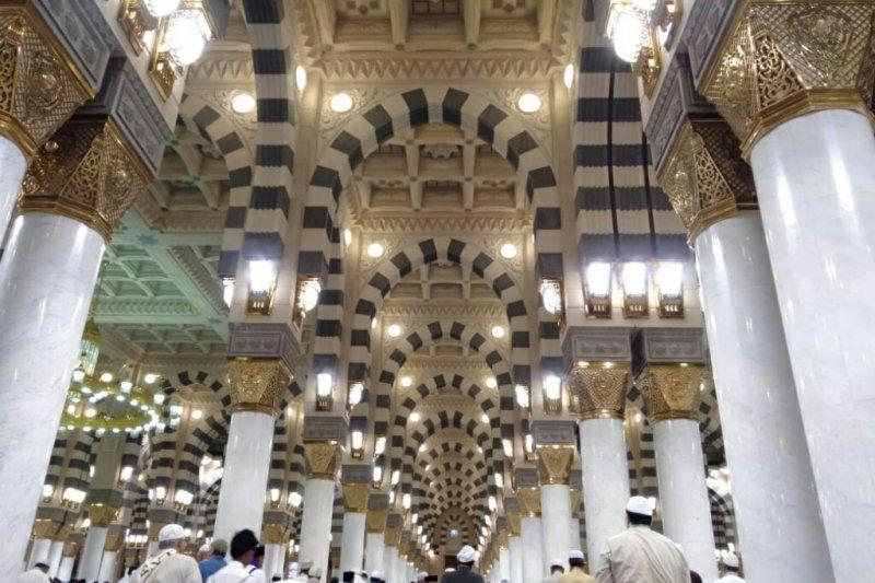 445 Calhaj Bengkalis tiba di Madinah, begini ibadah yang mereka lakukan