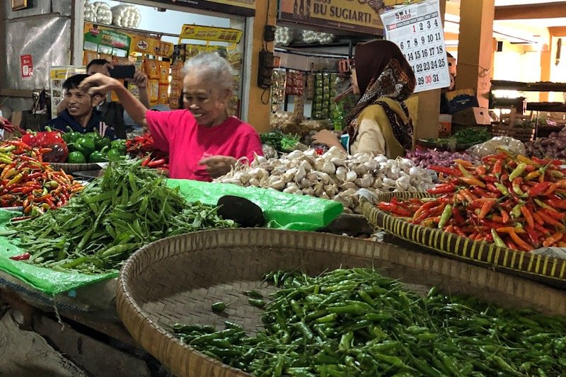 Harga cabai di Yogyakarta mencapai Rp60.000 per kg