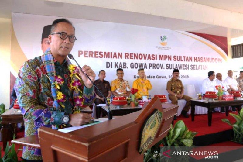 Kemensos rehabilitasi Kompleks Makam Pahlawan Nasional asal Sulsel