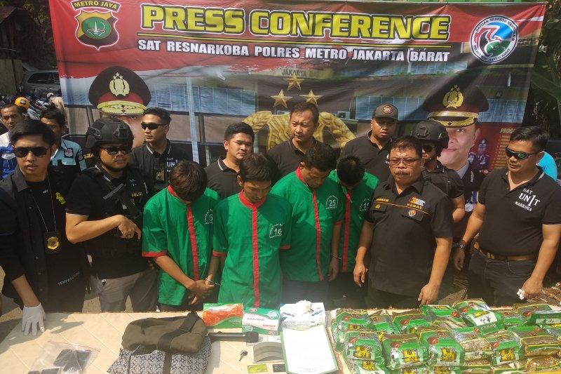 Polres Jakarta Barat gagalkan penyelundupan sabu antarnegara