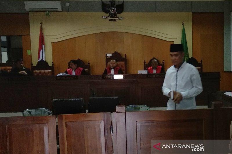 Terdakwa pungli dana masjid pascagempa Lombok cabut keterangan BAP