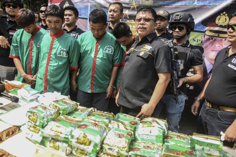 Berantas peredaran gelap narkoba, BNN apresiasi kinerja Polisi
