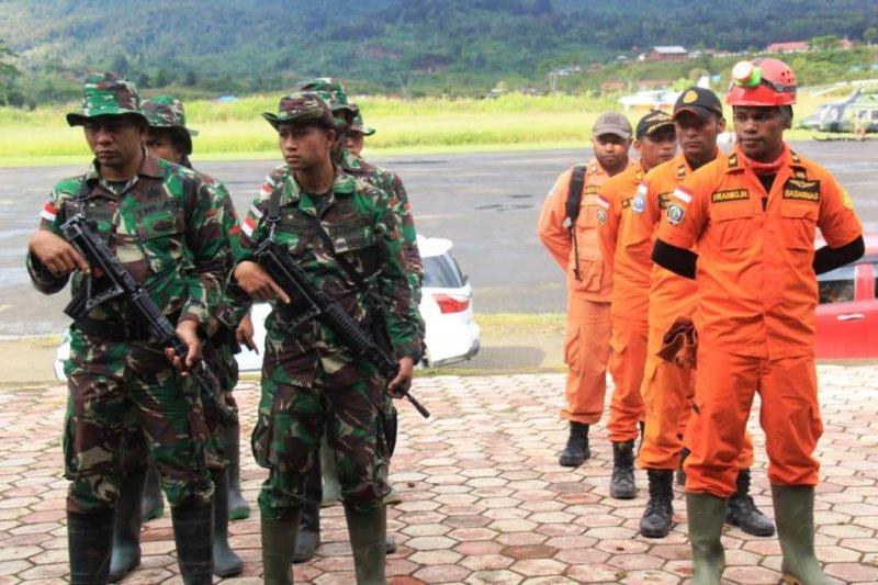 Pencarian Helikopter MI 17 TNI AD masih nihil