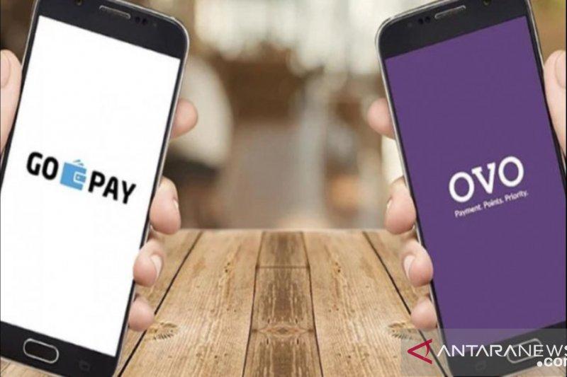 Hasil survei pengguna dompet digital mayoritas transaksi retail