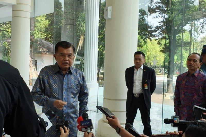 Jusuf Kalla: Partai suara terbanyak dapat kursi menteri yang memadai