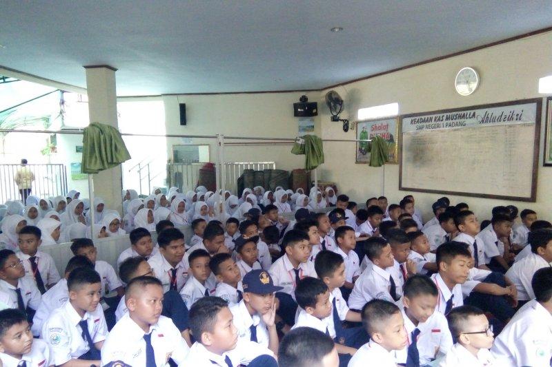 Hafal Al Quran, enam siswa lolos SMPN 1 Padang lewat jalur prestasi
