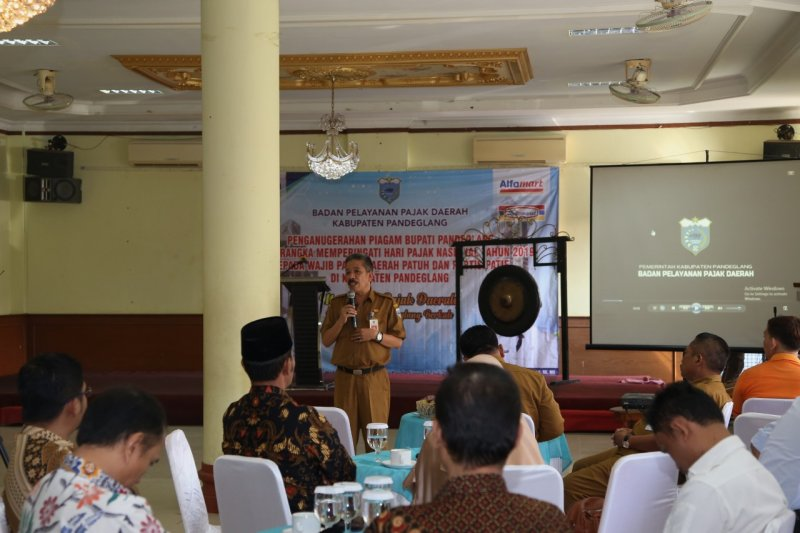 Penghargaan wajib pajak di Pandeglang