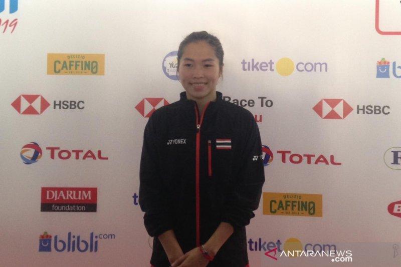 Ratchanok Intanon berharap jadi juara Indonesia Open