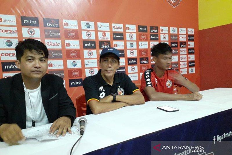 Semen Padang satu-satunya tim belum pernah menang di Liga 1