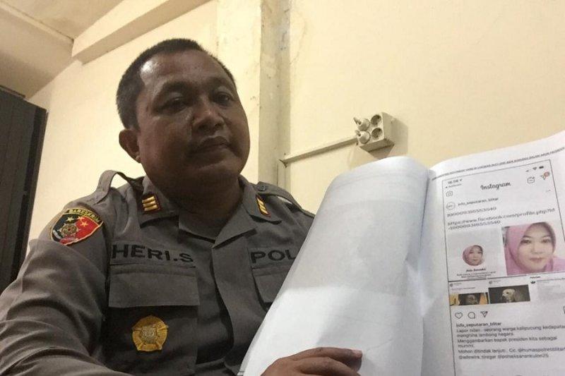 Menghina presiden, IRT asal Blitar ditahan polisi