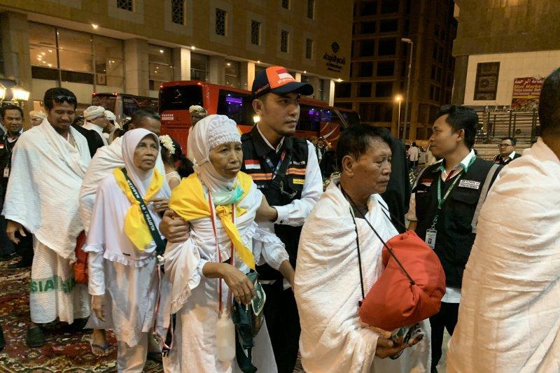 Lebih dari 60.000 anggota jamaah Indonesia telah tiba di Tanah Suci