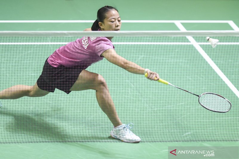 Fitriani dihentikan Takahashi di perempat final Thailand Open