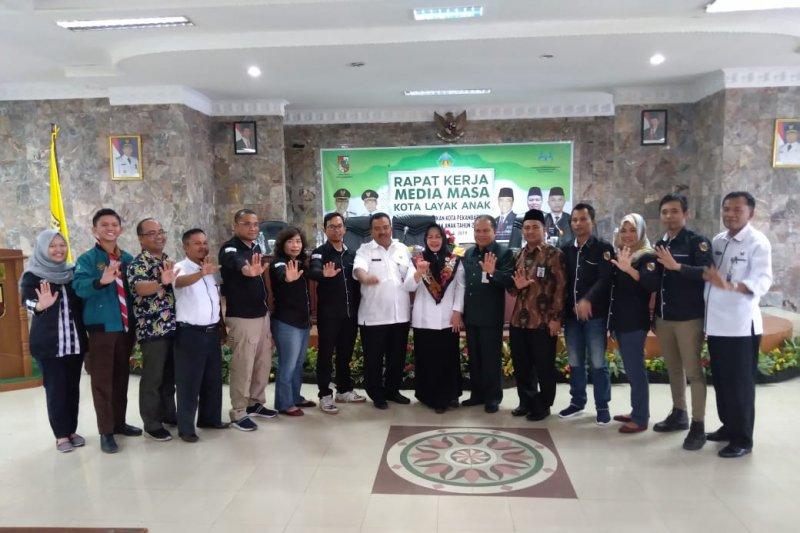 Media diminta jadi mitra Pemko Pekanbaru menuju Kota Layak Anak